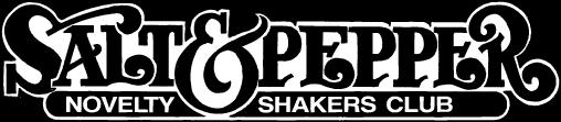 Novelty Salt & Pepper Shakers Club Logo