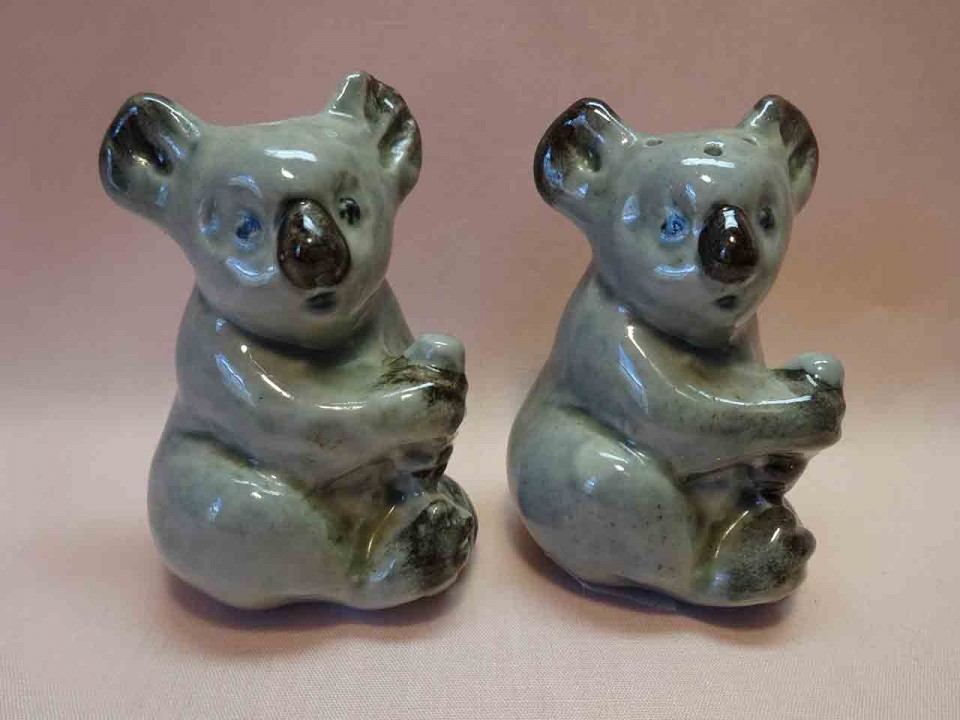 Darbyshire pottery koala bear salt and pepper shakers