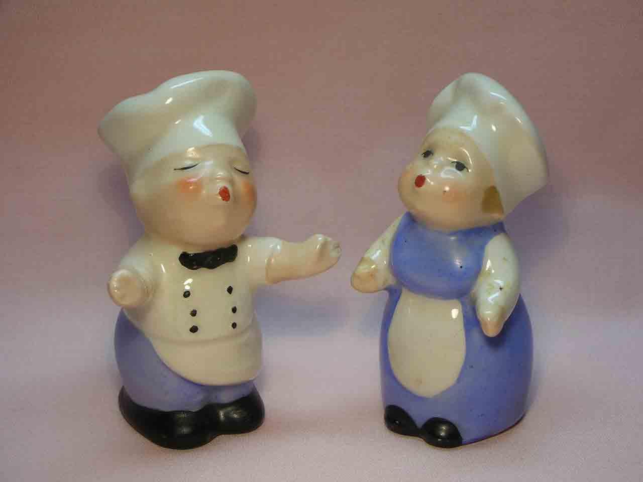 Goebel huggers salt and pepper shakers - chefs