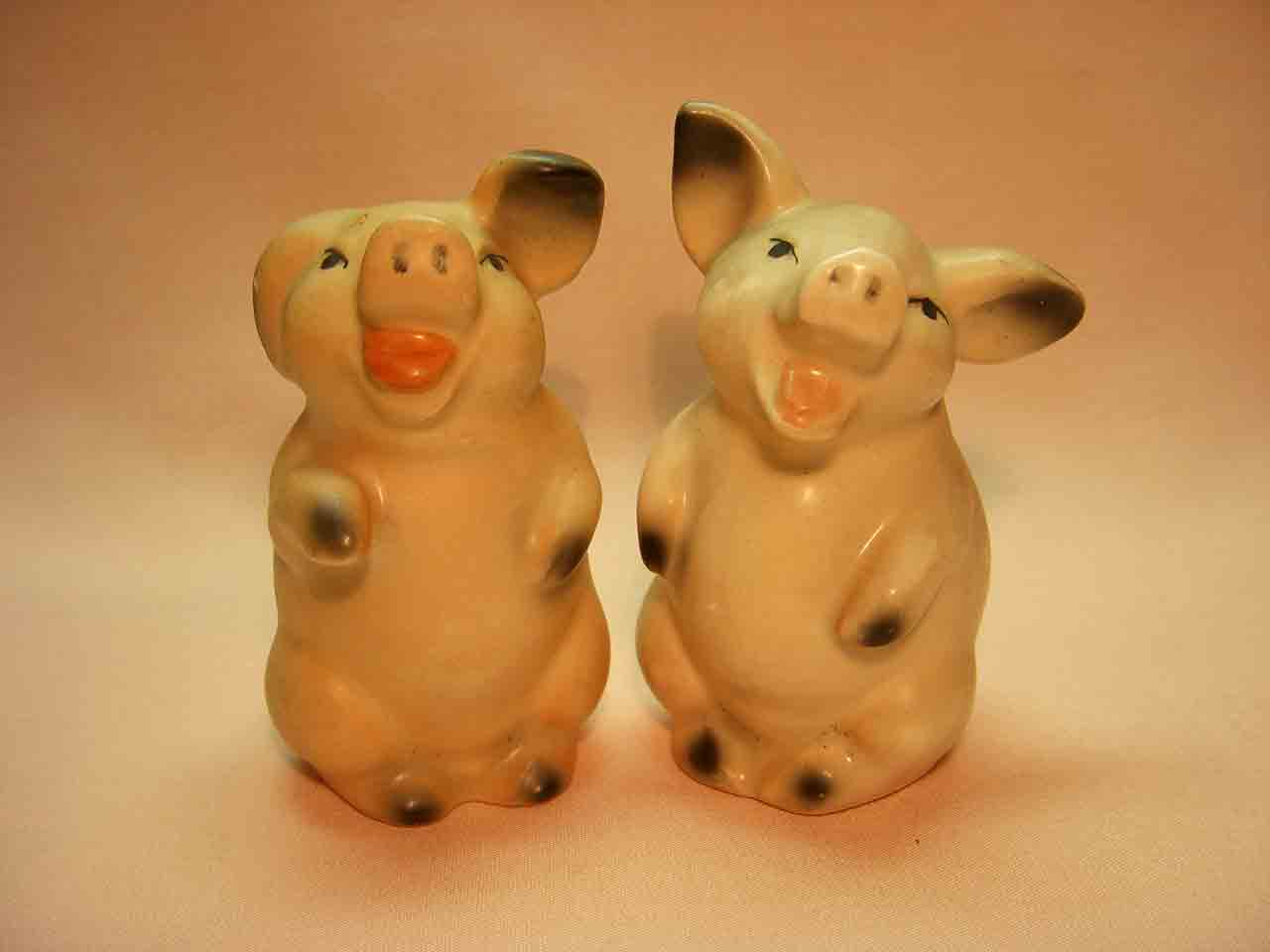 Goebel huggers salt and pepper shakers - pigs
