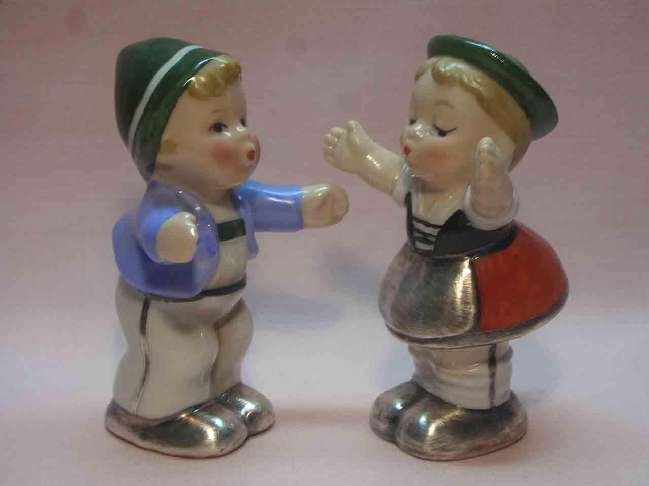 Goebel huggers salt and pepper shakers - Tyrolean
