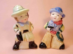 United States couple salt and pepper shakers