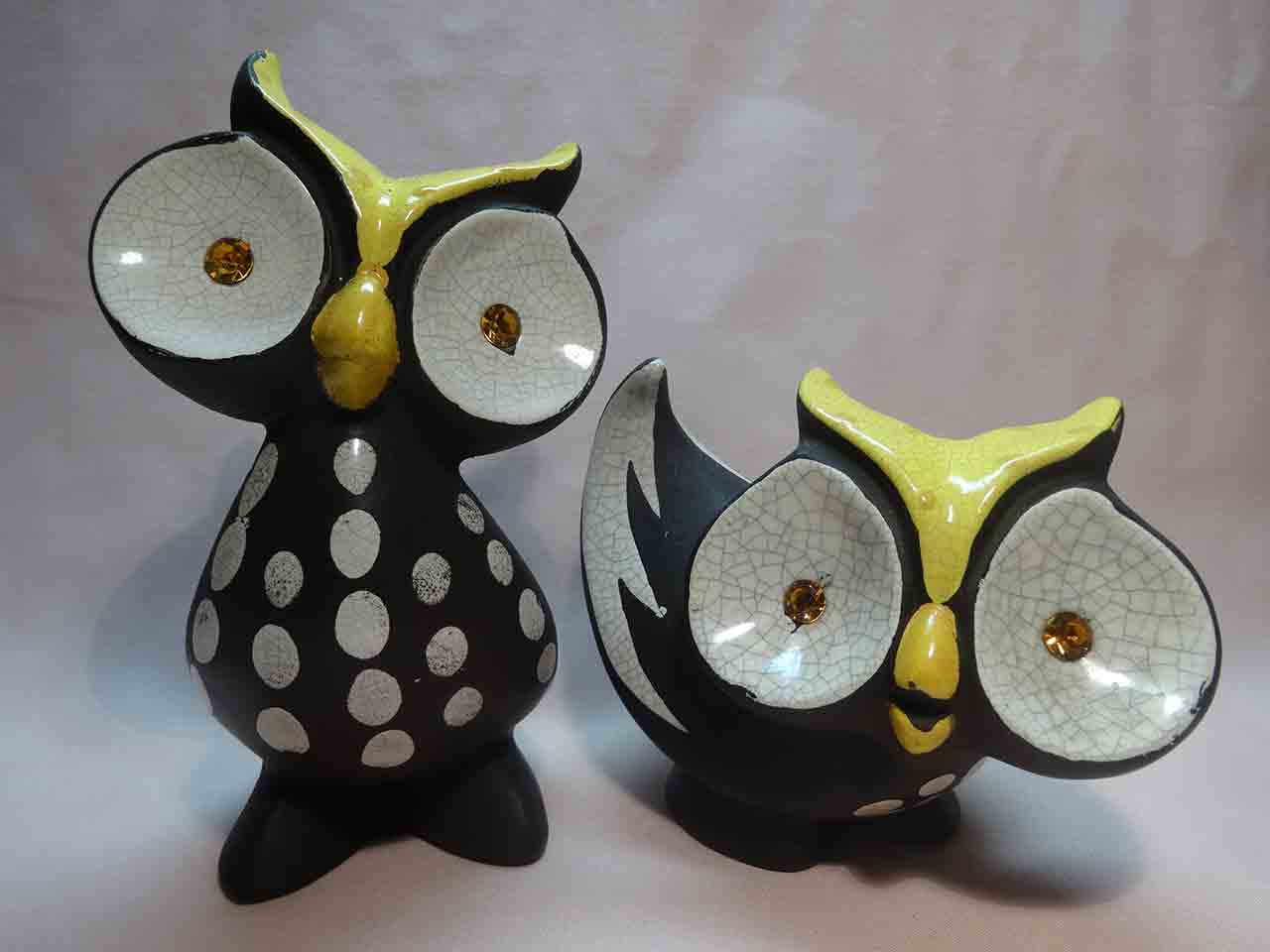 Napco owls salt and pepper shakers
