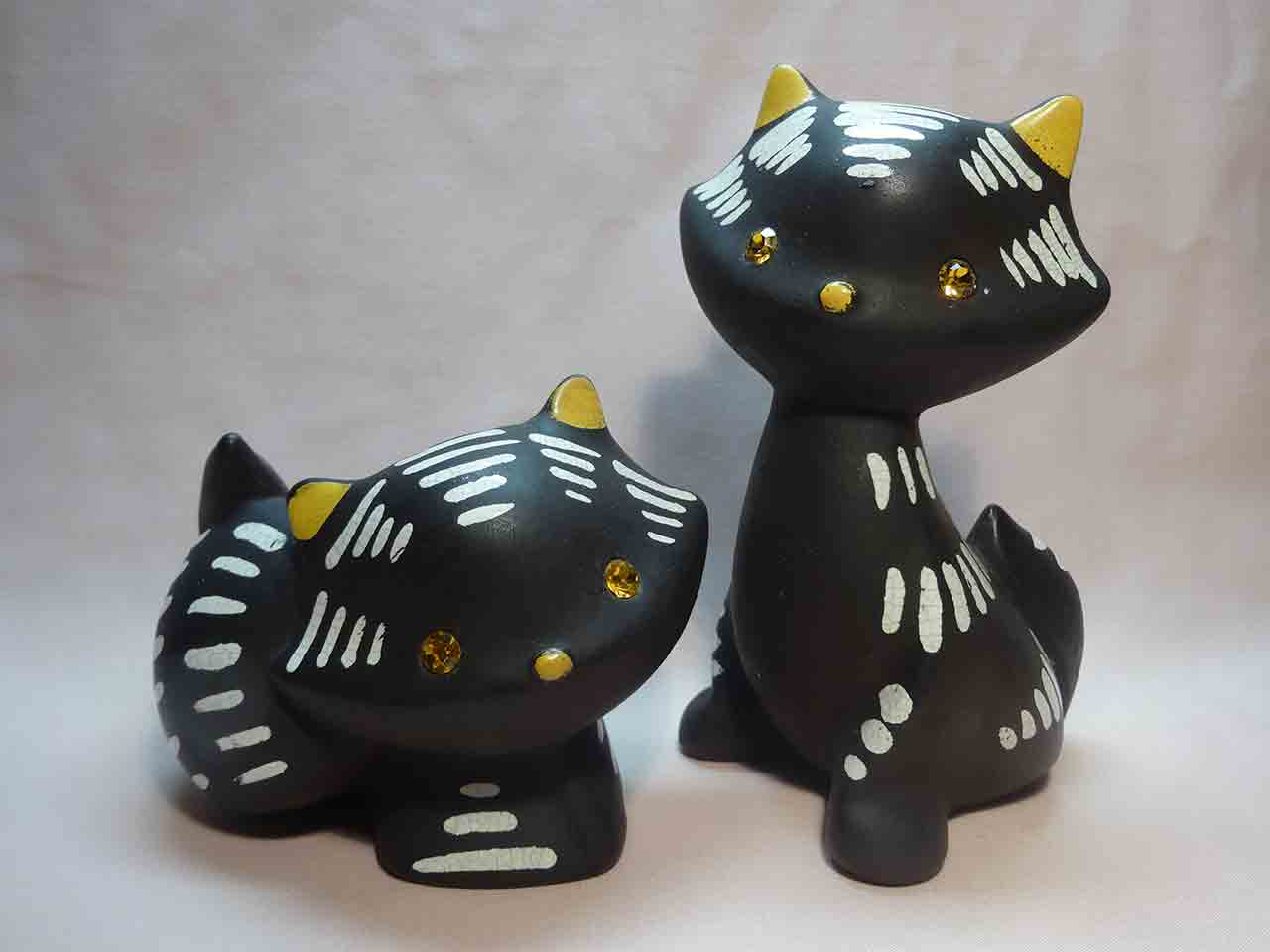 Napco cats salt and pepper shakers