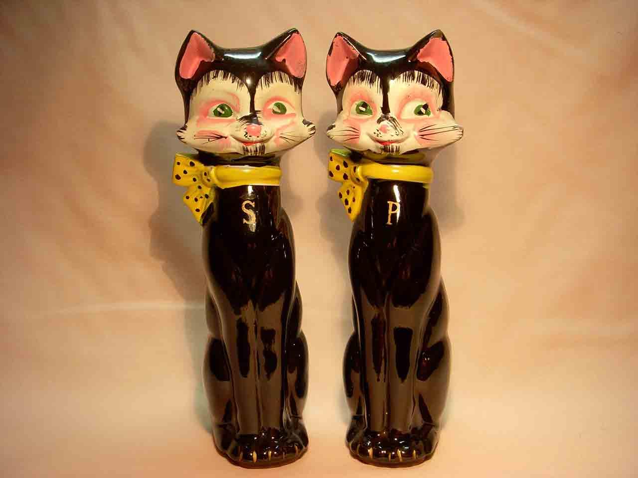 Tallboy cats salt and pepper shaker
