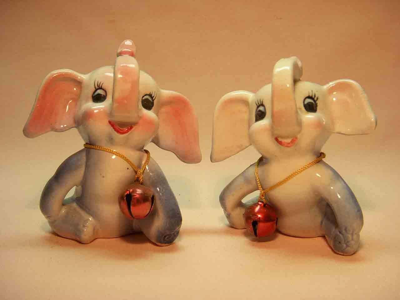 Twinkle Tinkle elephants salt and pepper shakers