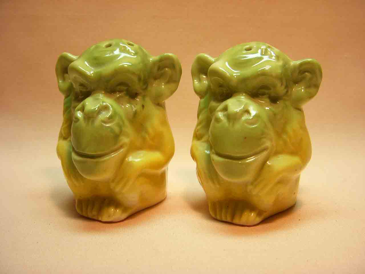 Conta & Boehme Germany monkeys salt and pepper shakers
